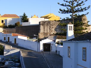 Views from the apartment toward the historcal center of Tavira