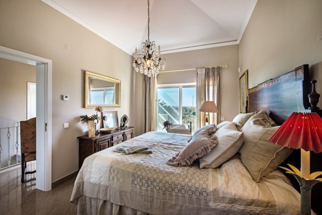 Well presented and spacious double bedroom with high quality fabrics and finishes