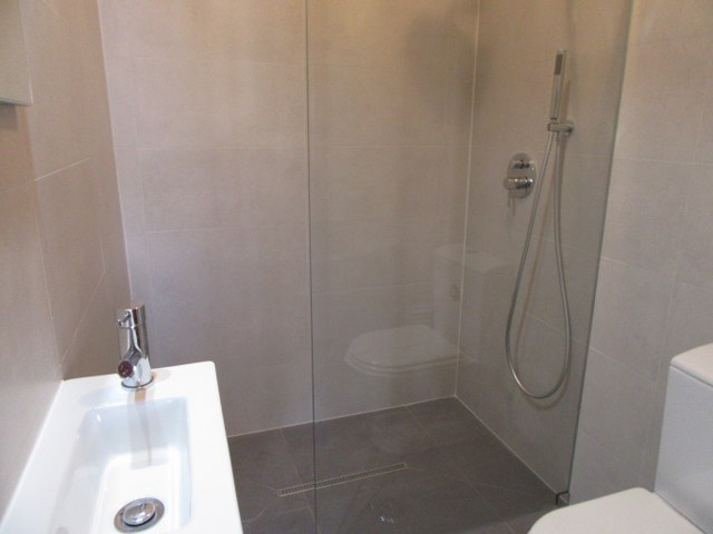 2nd Modern bathroom with spacious walk-in shower
