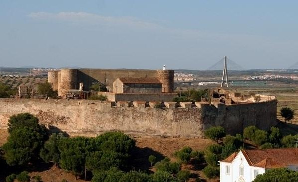 The old castle in the picturesque village of Castro Marim