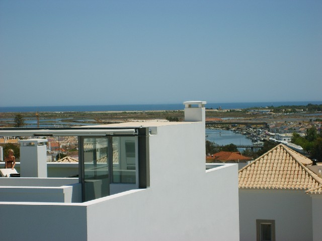 View from Private Roof terrace towards the Ocean