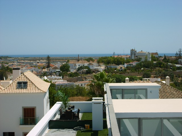 View from Private roof terrace towards Ocean